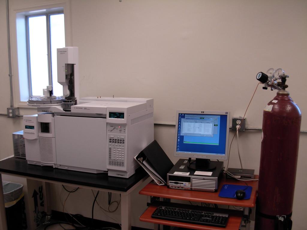 Agilent gas chromatograph-mass spectrometer
