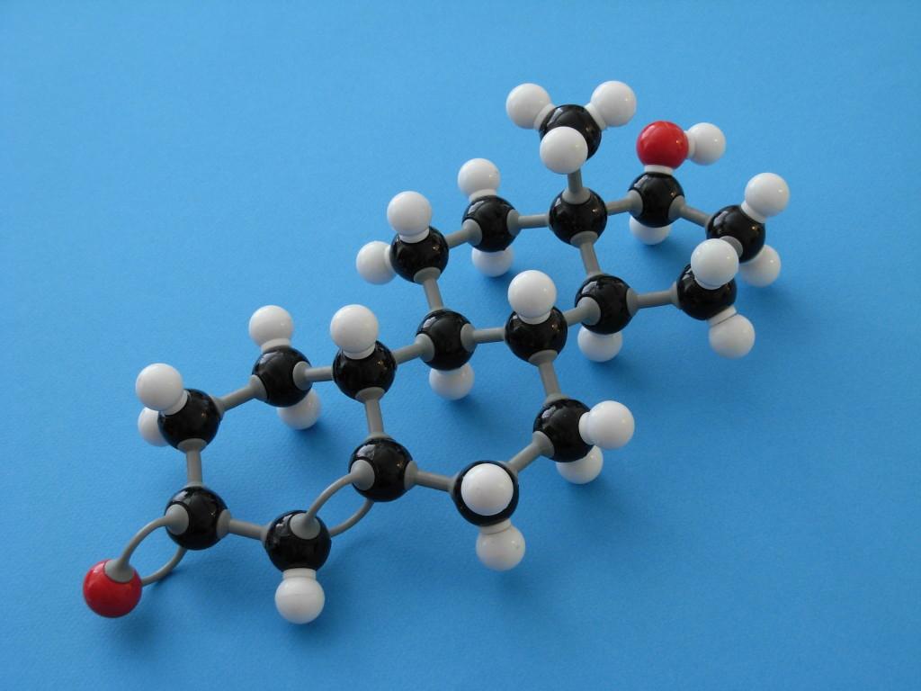 THG molecule (darker)
